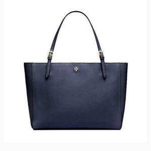 Tory Burch Emerson Tote Navy Blue